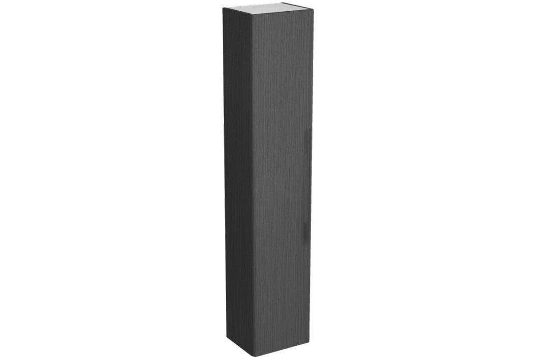 Vysoká skříňka Kolo Kolo 36 cm, dub šedý, univerzální otevírání SIKONKOTVSDS