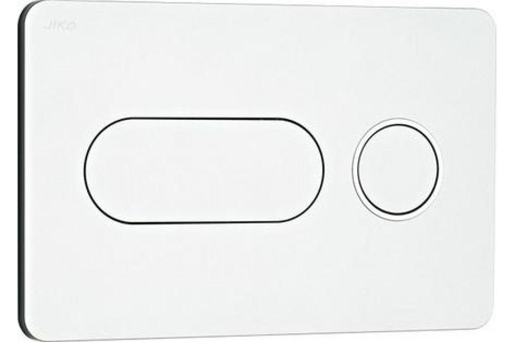 Ovládací tlačítko Jika plast, chrom H8936460070001