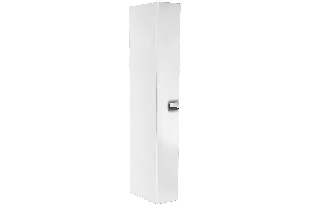 Vysoká skříňka Kolo Twins, bílá lesklá, univerzální otevírání SIKONKOTWVS22BL