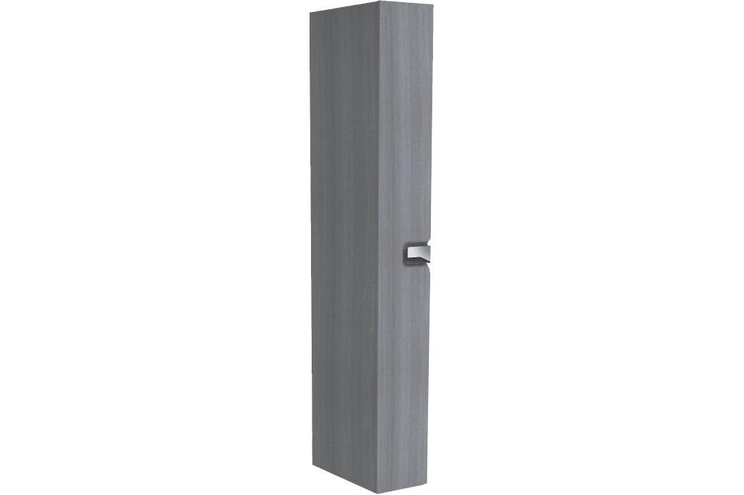Vysoká skříňka Kolo Twins, grafit stříbrný, univerzální otevírání SIKONKOTWVS22SG