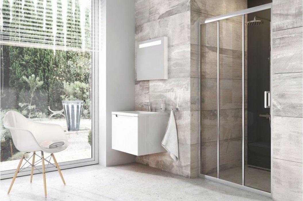 Sprchové dveře Ravak Serie 200 posuvné 90 cm, čiré sklo, chrom profil X00H70C00Z1