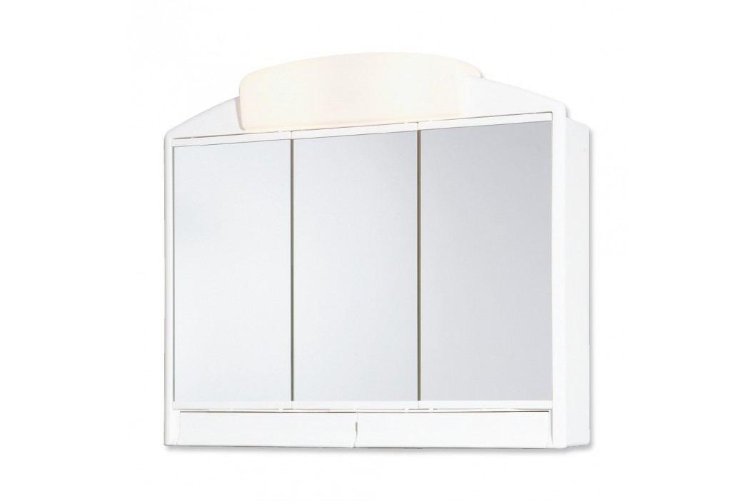Jokey RANO Zrcadlová skříňka - bílá - š. 59 cm, v. 51 cm, hl. 16 cm 541302-011
