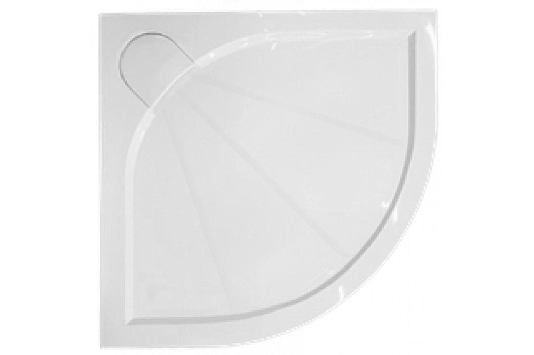 SIKO sprchová vanička čtvrtkruhová 90x90 cm, R 550, litý mramor - SIKOLIMCC90S