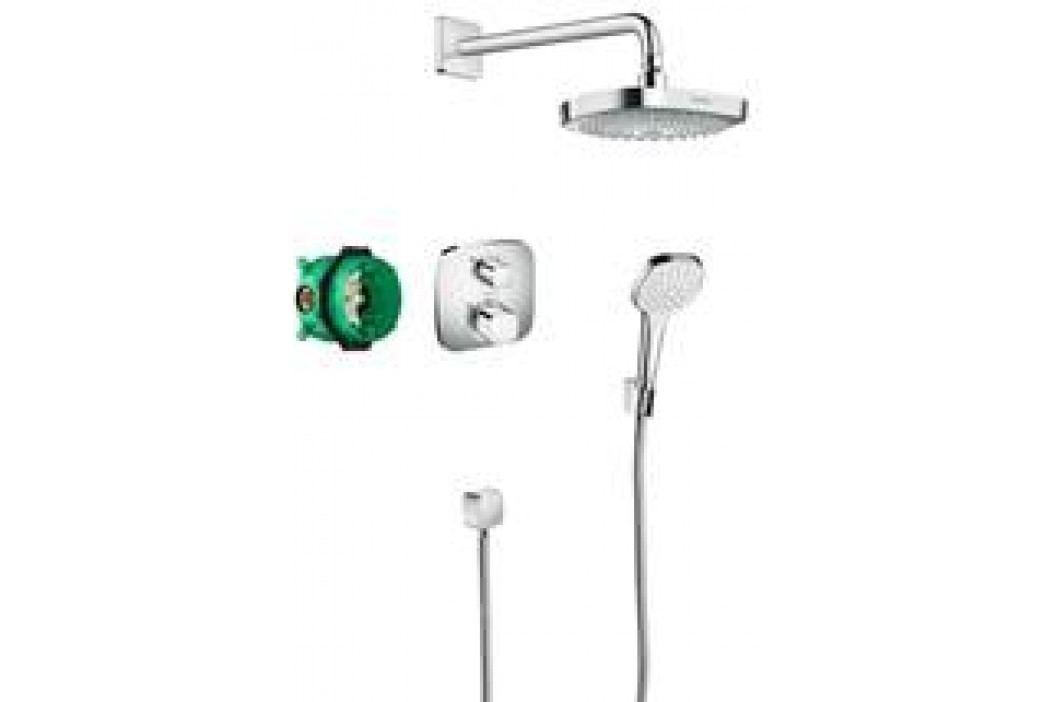 Hansgrohe Croma Select E - Designová sprchová souprava Ecostat E, chrom 27294000