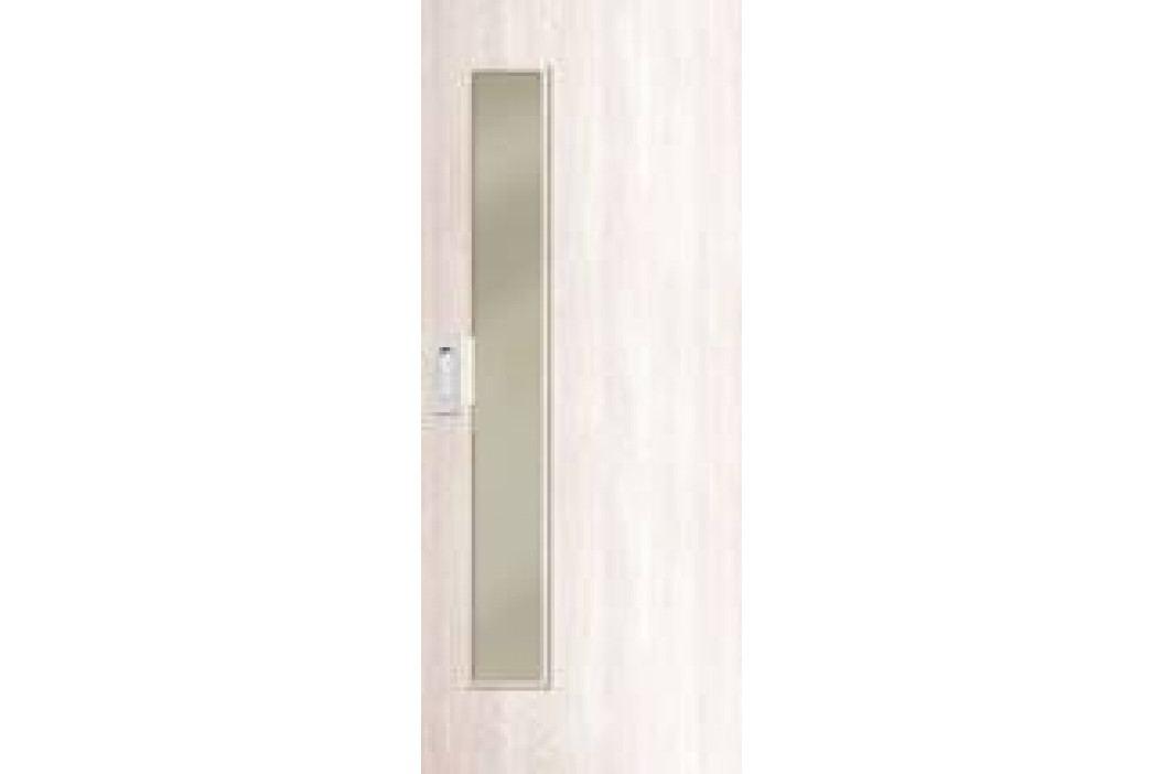 Interiérové dveře NATUREL DECA10, 70 cm, posuvné, borovice bílá, DECA10BB70PO