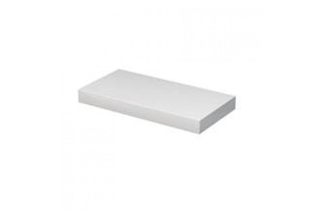 Deska pod umyvadlo Naturel Ratio 180 cm, bílá lesklá DE100.180.9016G