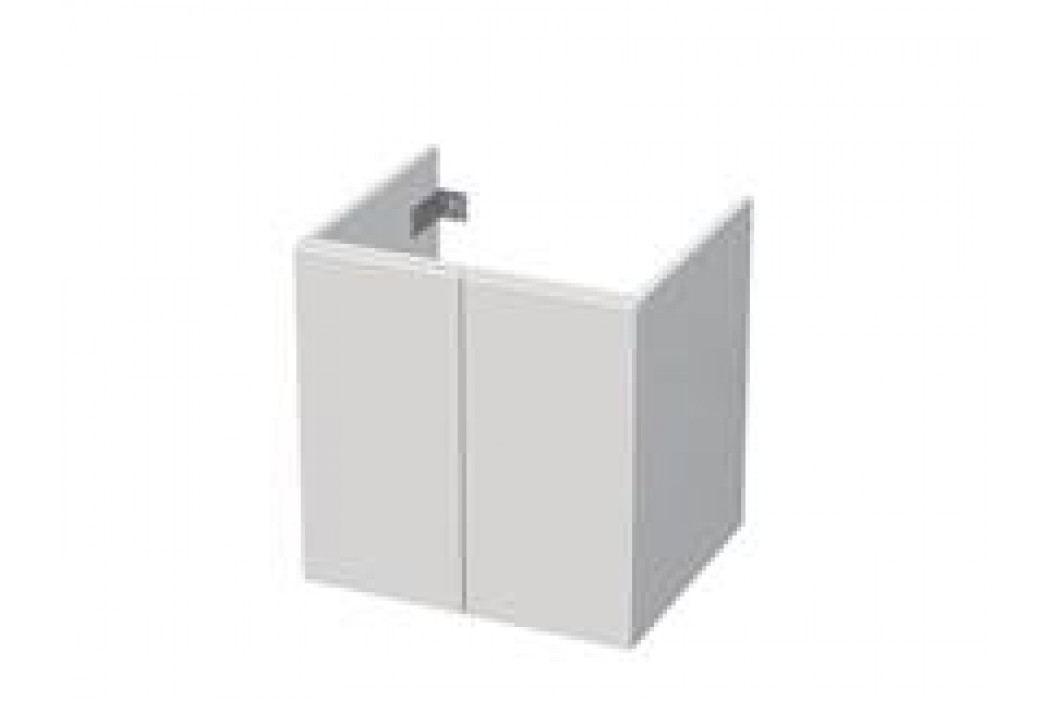 Skříňka pod umyvadlo Naturel Ratio 60 cm, bílá lesklá CT602D56PU.9016G