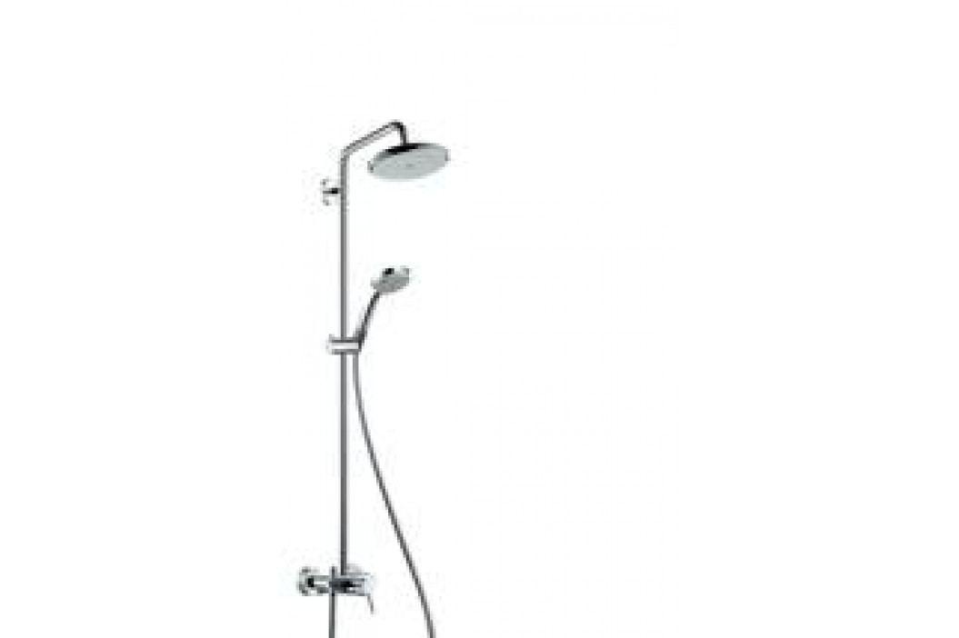 Sprchový systém Hansgrohe Croma s pákovou baterií 27222000