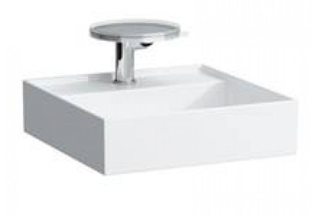 Umývátko Laufen KARTELL BY LAUFEN 46x46 cm, bez přepadu H8153310001121