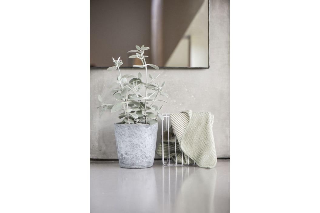 IB LAURSEN Pletený ručník Altum 40x60 cm, šedá barva, textil