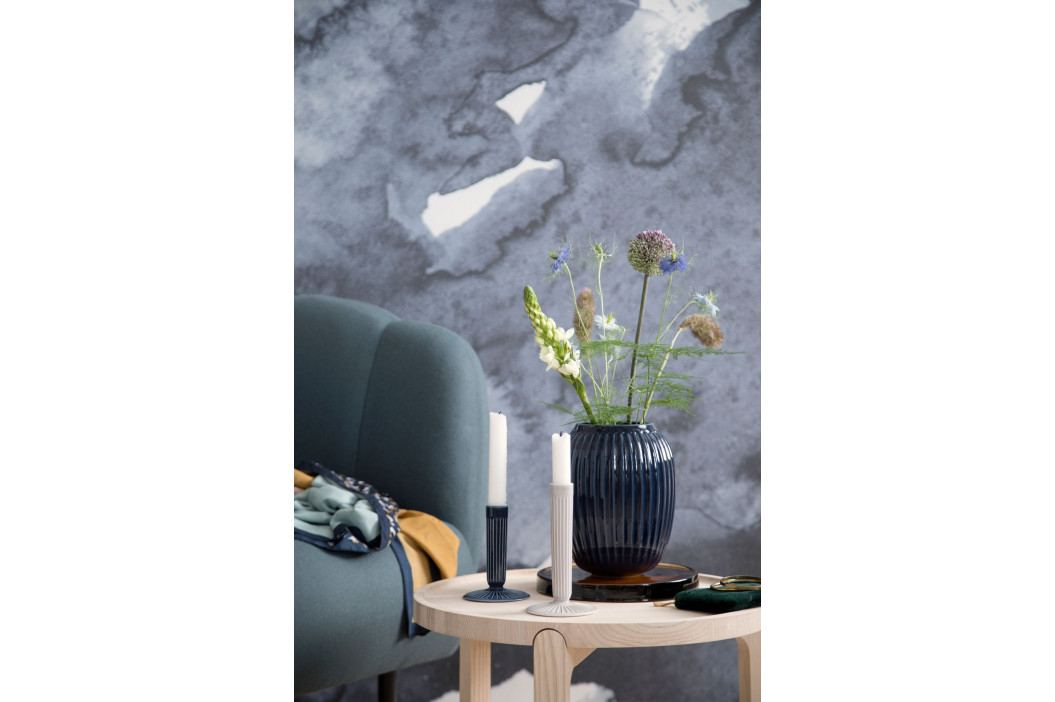 KÄHLER Keramický svícen Hammershøi White 16,5 cm, bílá barva, porcelán