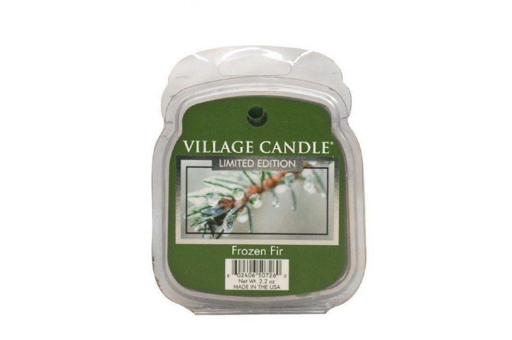 VILLAGE CANDLE Vosk do aromalampy Frozen Fir, zelená barva, vosk