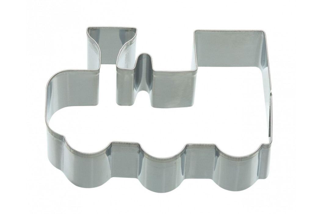 Kitchen Craft Nerez vykrajovátko - vláček 9 cm, stříbrná barva, kov