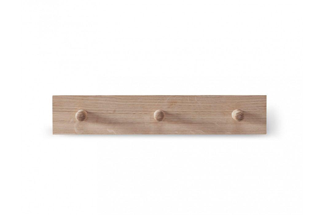 Garden Trading Věšák z dubového dřeva 40cm, přírodní barva, dřevo