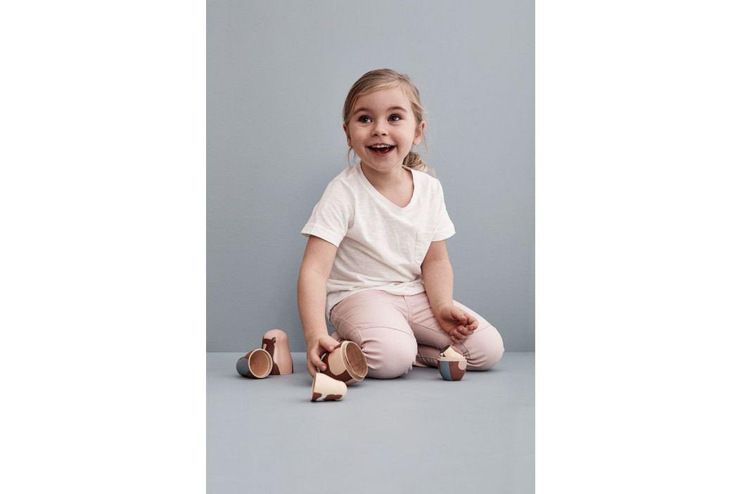 Kids Concept Dětská matrjoška Edvin, multi barva, dřevo