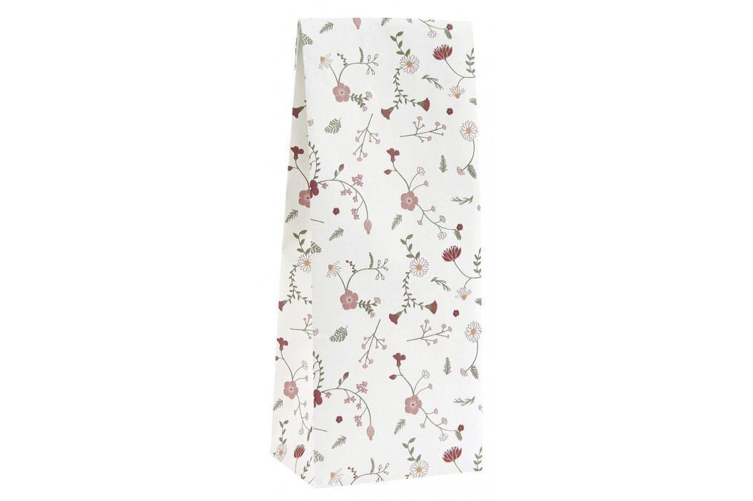 IB LAURSEN Papírový sáček Rose Wild Flower 9 x 22,5 cm, multi barva, papír