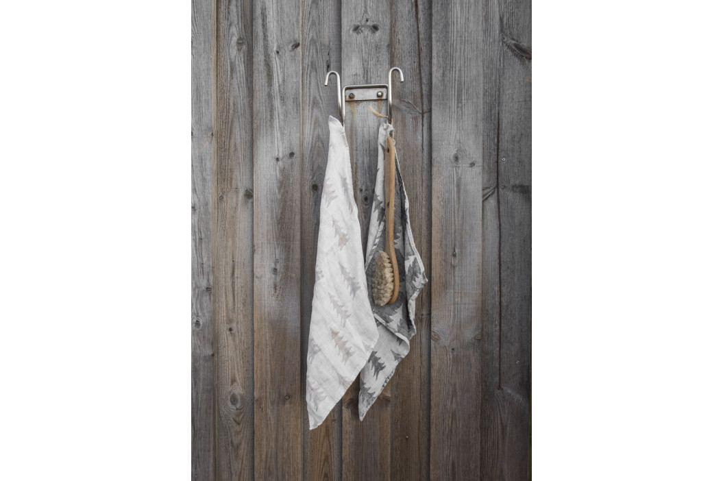 Fine Little Day Lněný ručník Gran Sand 43x43 cm, béžová barva, krémová barva, textil