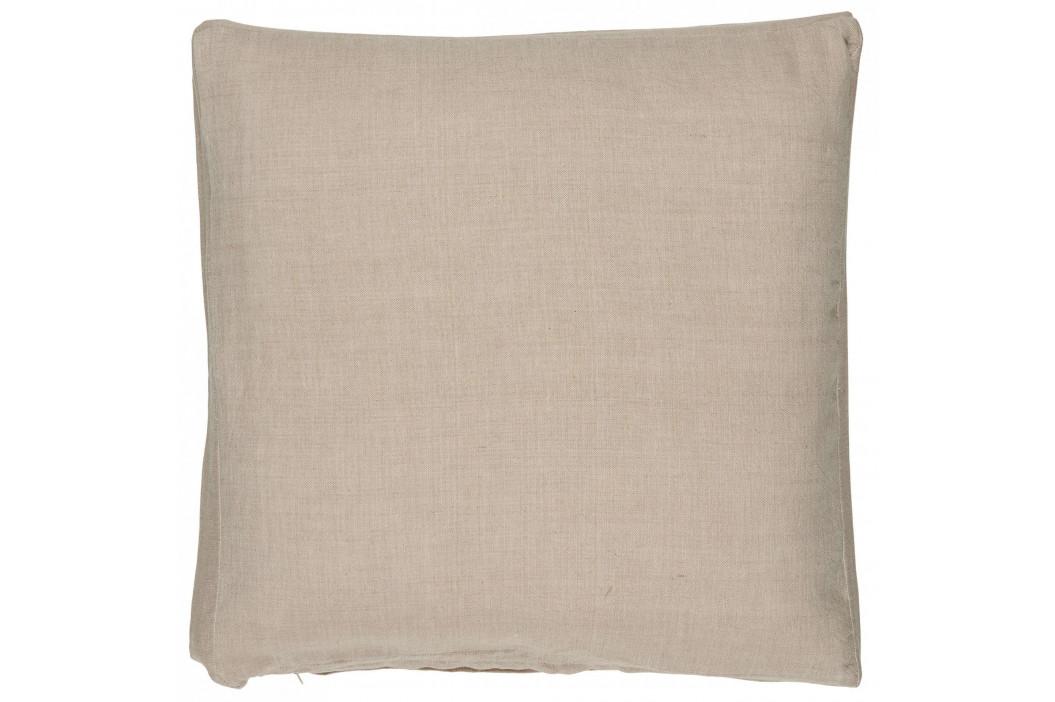 IB LAURSEN Bavlněný povlak na sedák Light Pink 45x3x45cm, růžová barva, textil