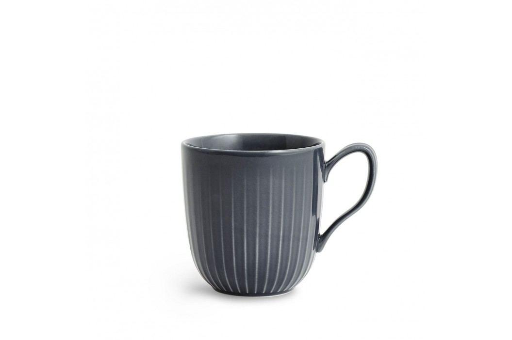 Keramický hrnek Hammershøi Antracit, šedá barva, keramika