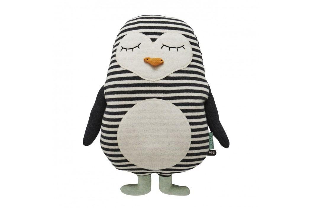 Dětský polštářek/plyšák tučňák Pingo, multi barva, textil