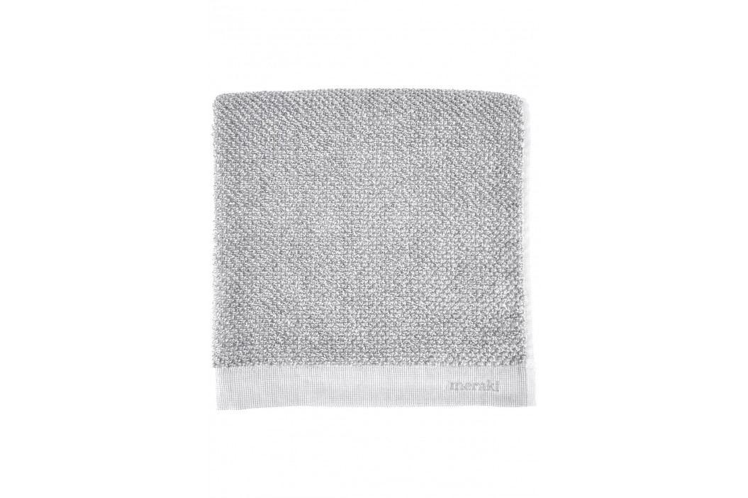 meraki Set ručníků Meraki 50x100 cm - 2 ks, šedá barva, textil