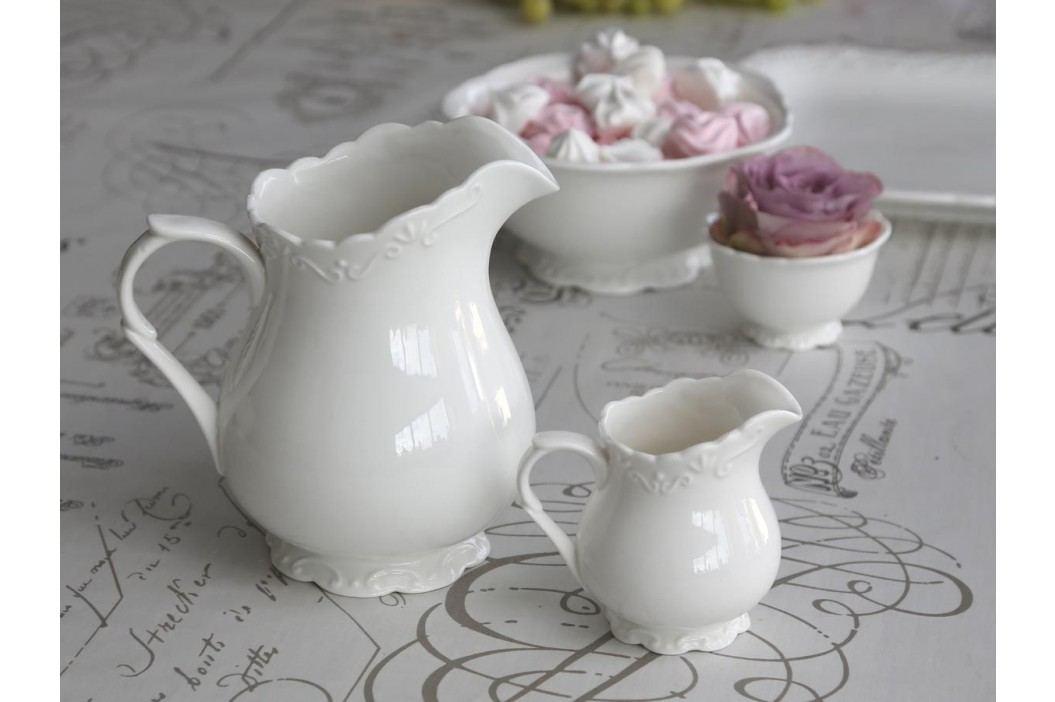Džbánek na smetanu Provence, bílá barva, keramika