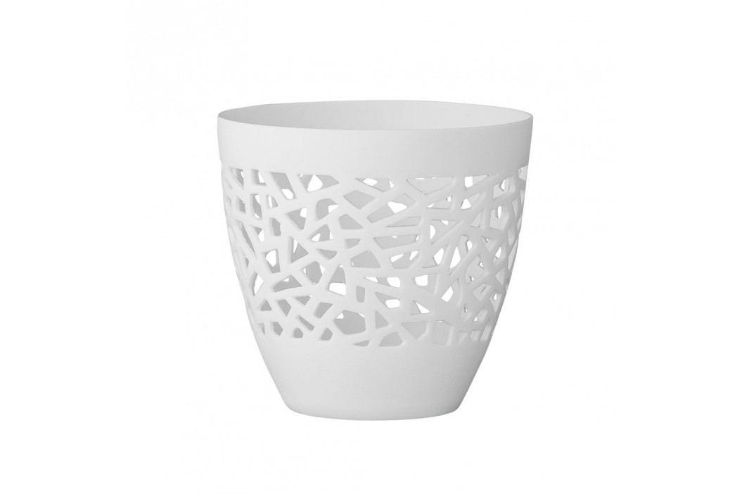 Svícen White laced, bílá barva, porcelán