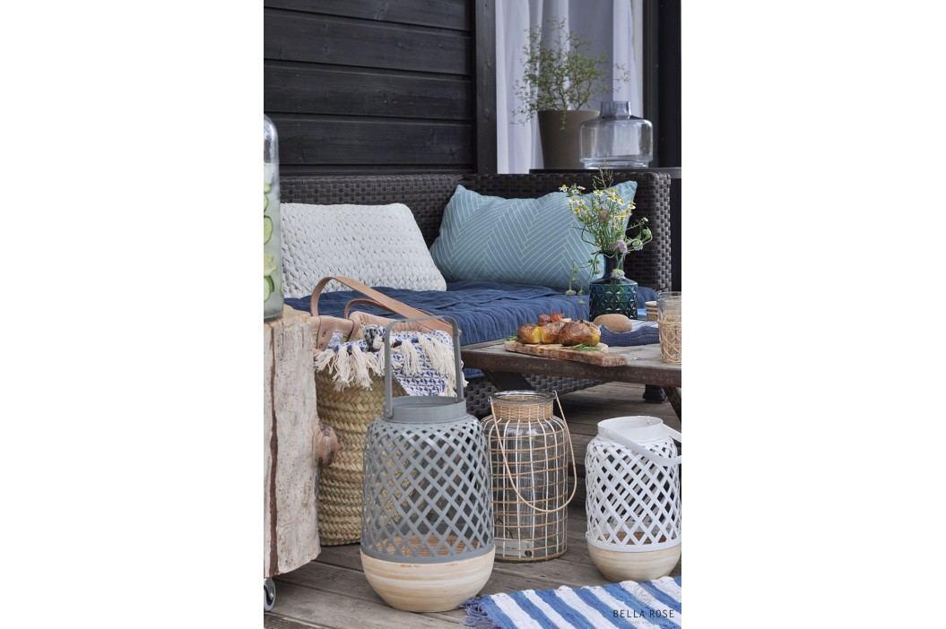 Lucerna Breeze Grey, šedá barva, přírodní barva, dřevo