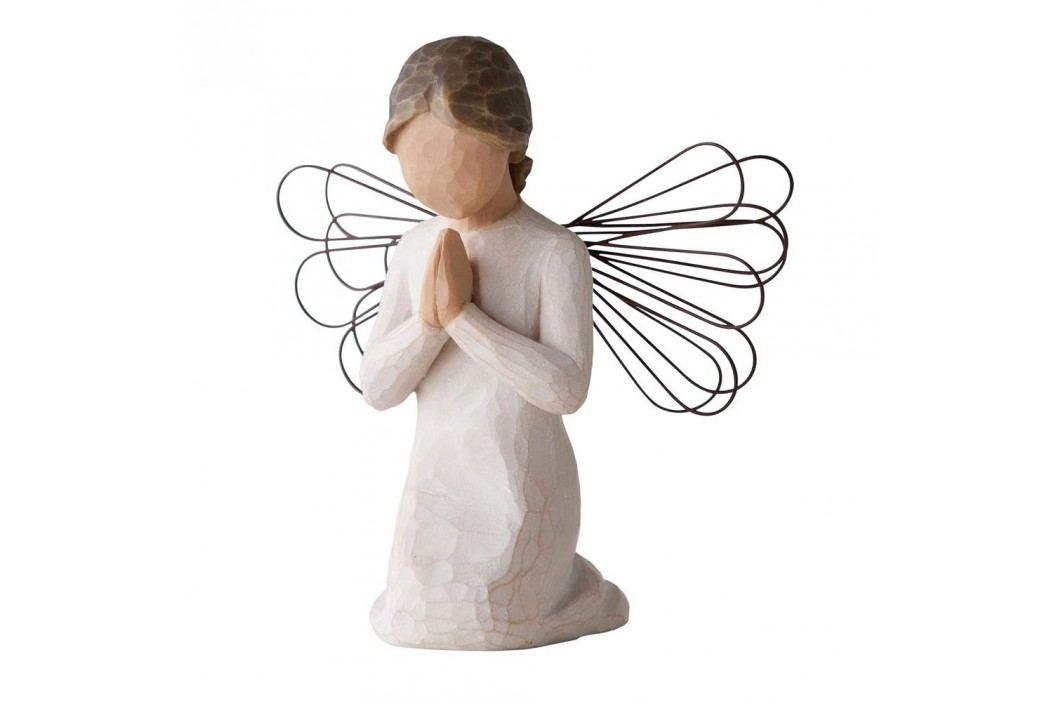 Anděl modlitby, béžová barva