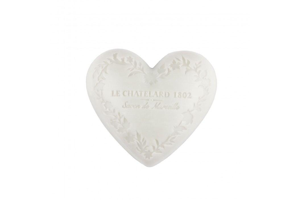 Mýdlo Heart - jasmín a mošus 100gr, bílá barva