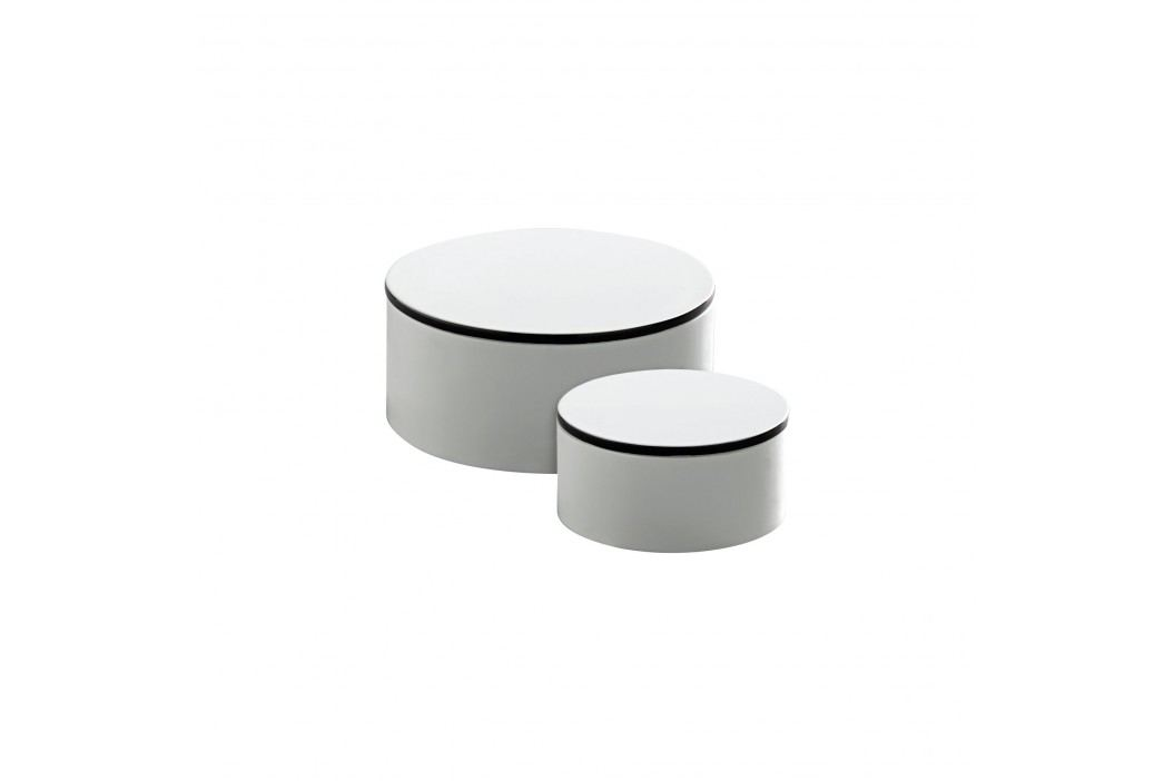 Dřevěná krabička Tine K Menší, bílá barva, dřevo