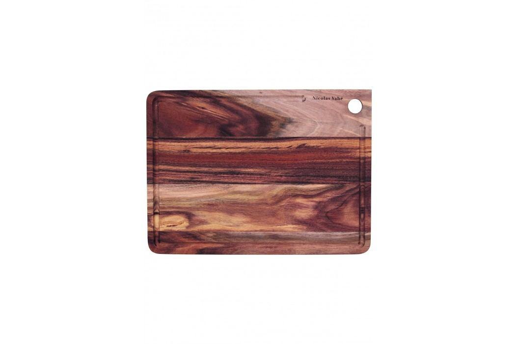 Prkénko na krájení z akátového dřeva 28x38 cm, hnědá barva, dřevo
