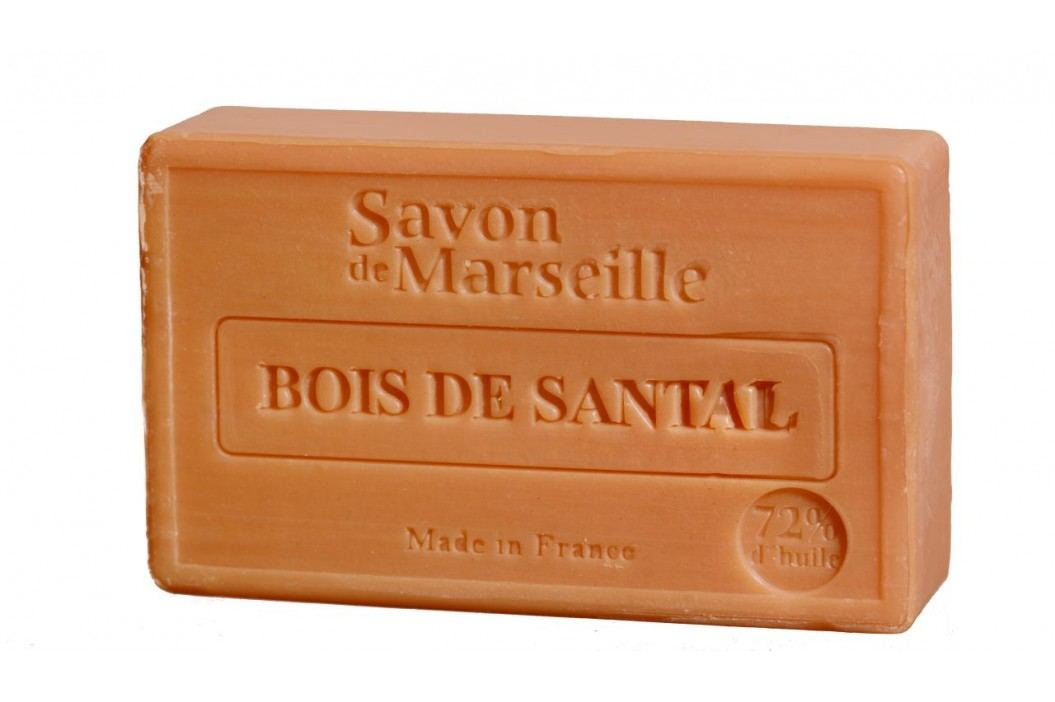 LE CHATELARD Francouzské mýdlo s vůní santalového dřeva 100gr, hnědá barva obrázek inspirace