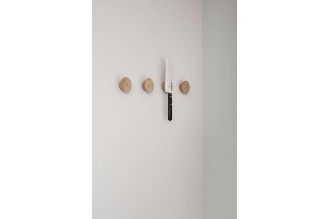 RIG-TIG Magnetický držák na nůž Cork, hnědá barva, přírodní barva, korek