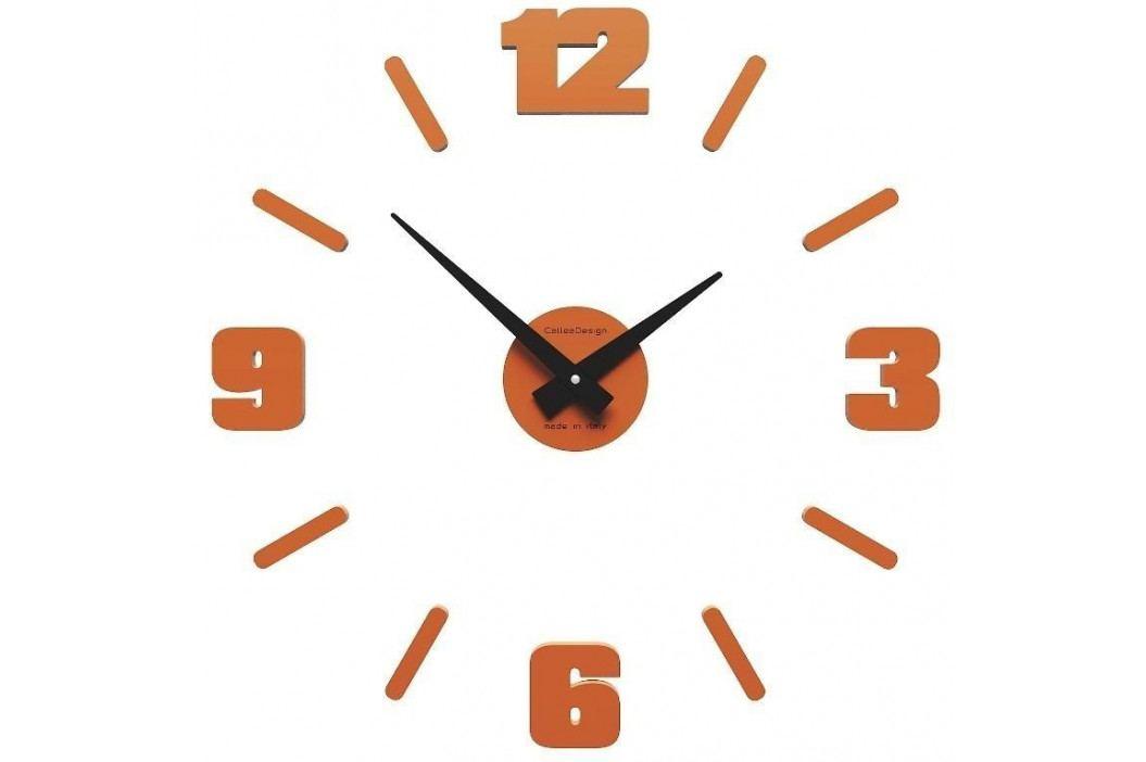 Designové hodiny 10-304 CalleaDesign Michelangelo S 50cm bílá-1 - RAL9003