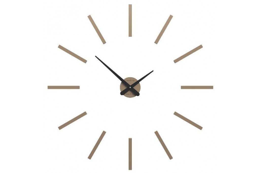 Designové hodiny 10-302 CalleaDesign 78cm bílá-1 - RAL9003