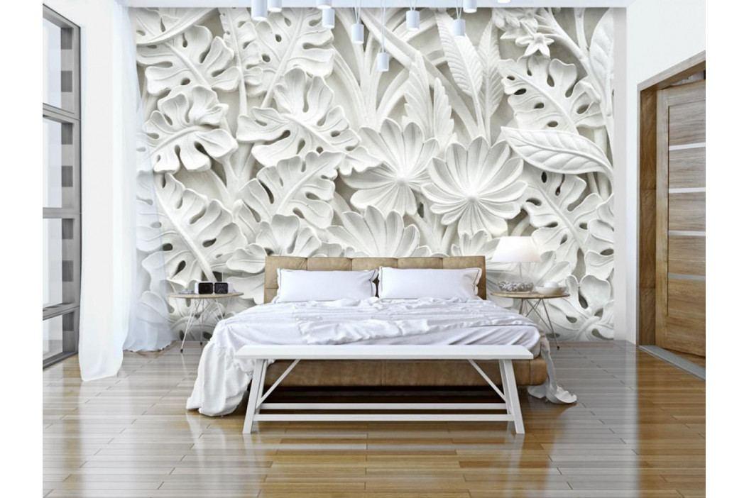 Murando DeLuxe 3D tapeta - Zahrada z alabastru 150x105 cm