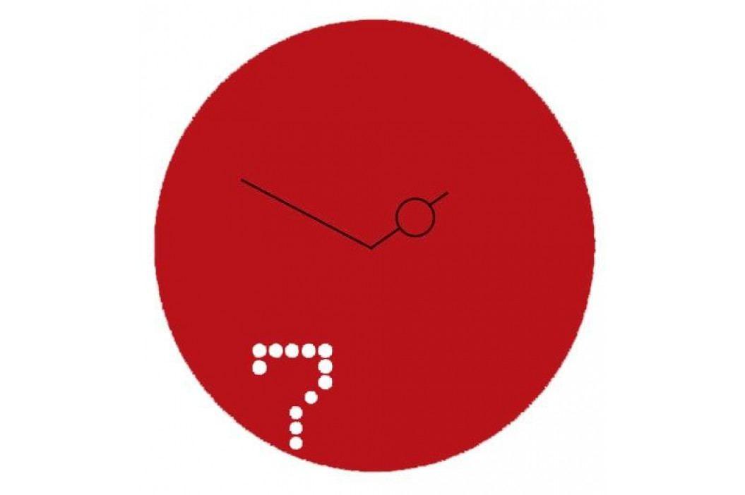 Designové nástěnné hodiny Diamantini a Domeniconi Seven 40cm D&D barvy kov starorůžový
