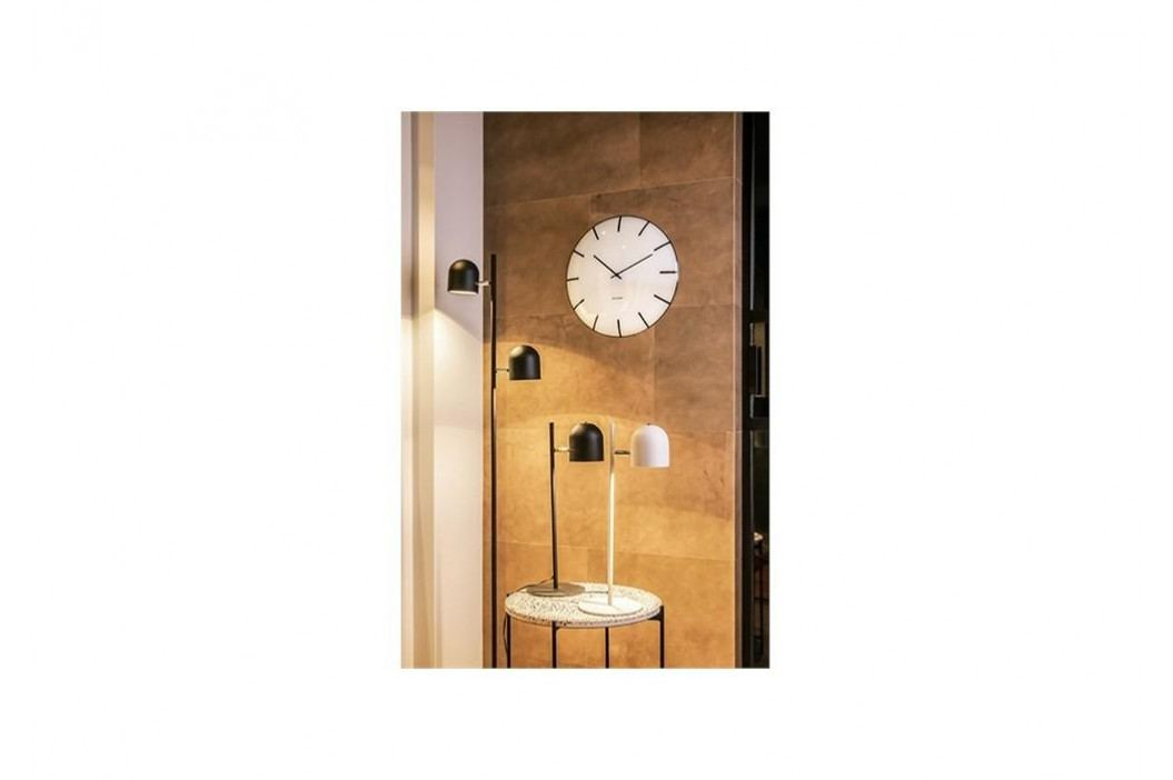 Designové nástěnné hodiny 5722WH Karlsson 40cm