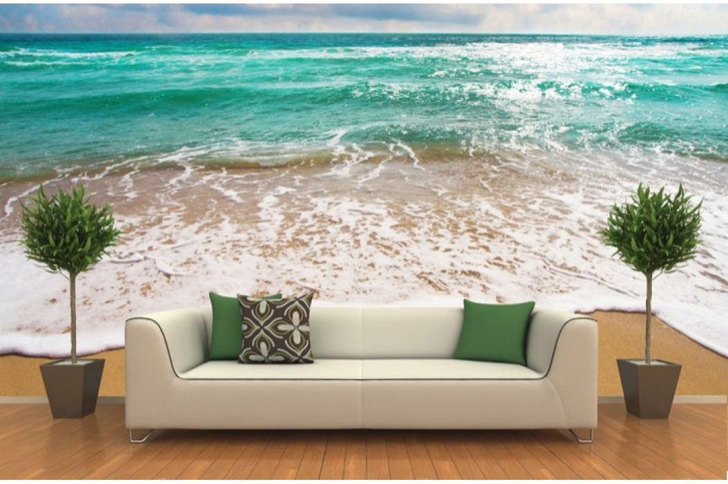 Pláž 2 (126 x 123 cm) -  Fototapeta na zeď
