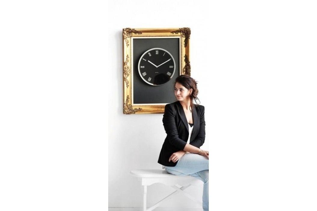 Designové nástěnné hodiny 5423BK Karlsson 40cm