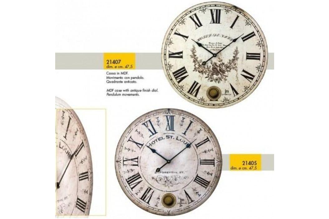 Designové nástěnné hodiny 21407 Lowell 48cm