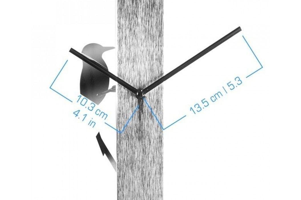 Designové nástěnné hodiny KA5418CH Karlsson 65cm