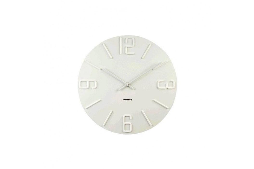 Designové nástěnné hodiny KA5462WH Karlsson 40cm