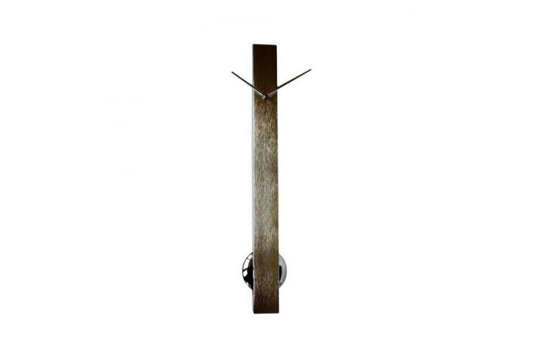Designové nástěnné hodiny 24928 Balvi Pendulum steel 65cm