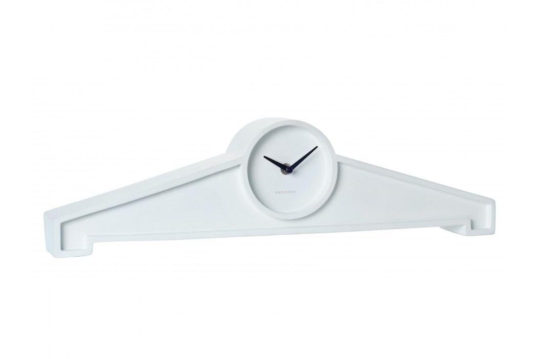 Designové stolní hodiny KW0037WH Karlsson 55cm