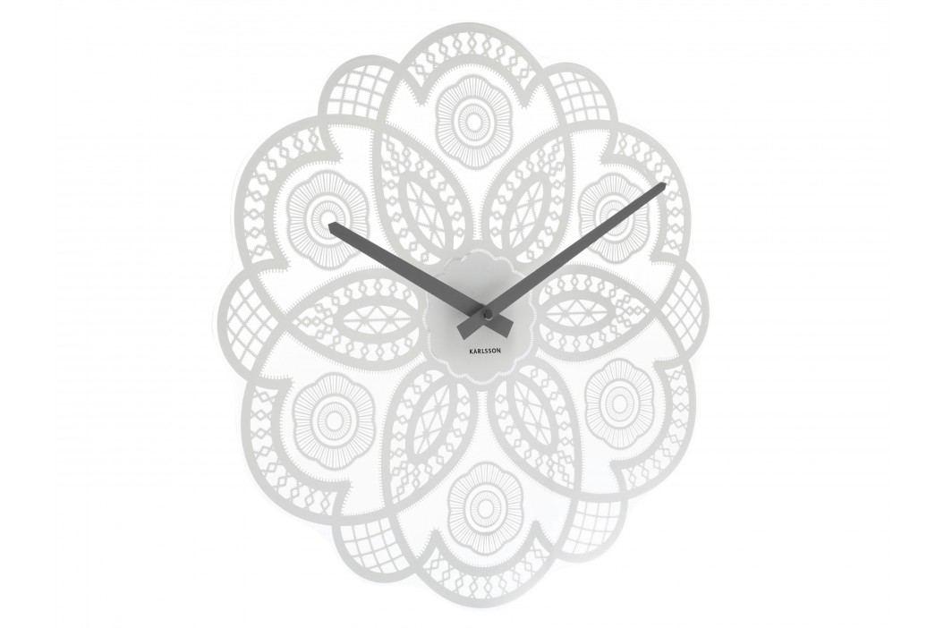 Designové nástěnné hodiny 5442WH Karlsson 38cm