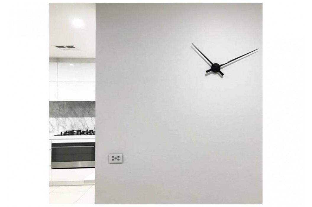 Designové nástěnné hodiny 2269zw Nextime Hands Black 85cm