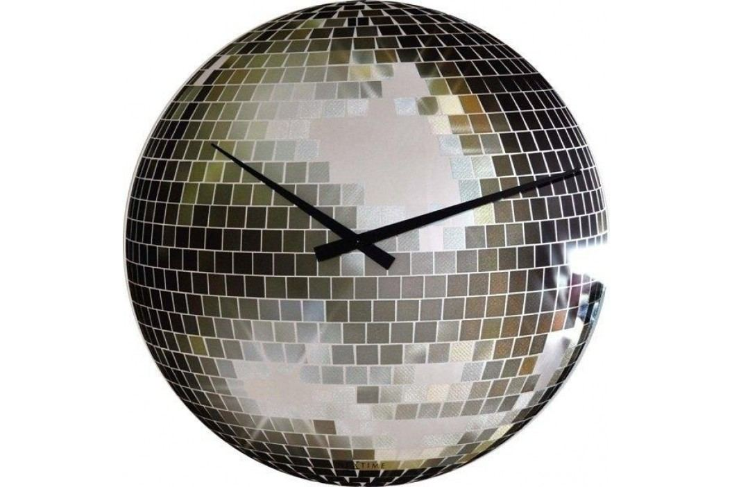 Designové nástěnné hodiny 8801 Nextime Disco 30cm