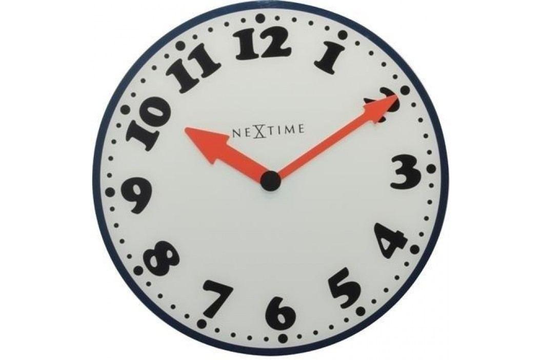 Designové nástěnné hodiny 8151 Nextime Boy 43cm